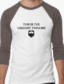 Community Darkest Timeline  Men's Baseball ¾ T-Shirt