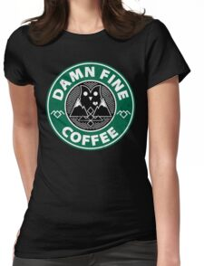 Damn Fine Womens Fitted T-Shirt
