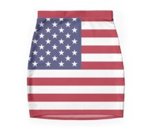 American Mini Skirt - USA Flag Mini Skirt