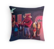 Club Minos Throw Pillow