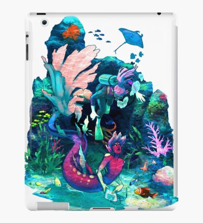 Reef Guide iPad Case/Skin