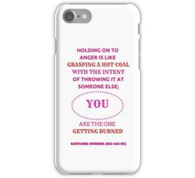 Anger Quote iPhone Case/Skin