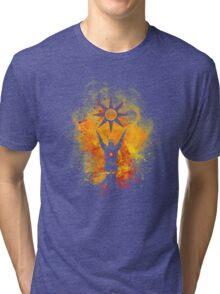 Praise the sun Art Talbis  Tri-blend T-Shirt