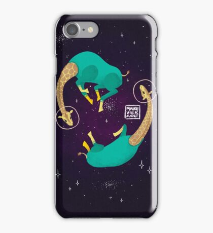 Space Giraffes iPhone Case/Skin