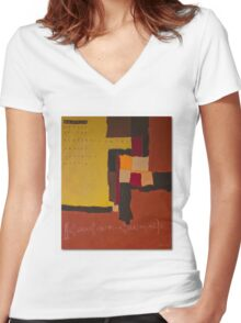 NEWTON Method Women's Fitted V-Neck T-Shirt