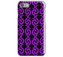 Purple pattern iPhone Case/Skin