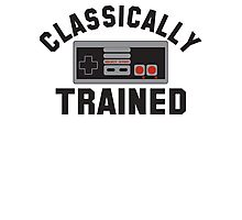 Classically Trained Nintendo Photographic Print