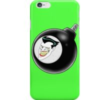 Joker bomb iPhone Case/Skin