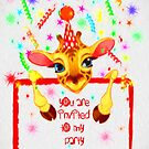 Party Invite by Catherine Hamilton-Veal  ©