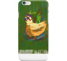 Chook t-shirt design, especially for girls iPhone Case/Skin