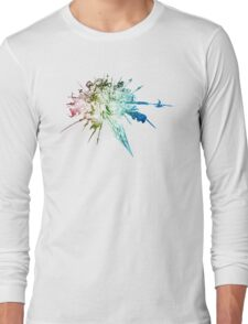°FINAL FANTASY° Final Fantasy XIV Rainbow Logo Long Sleeve T-Shirt