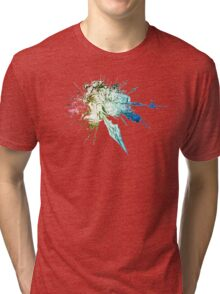 °FINAL FANTASY° Final Fantasy XIV Rainbow Logo Tri-blend T-Shirt