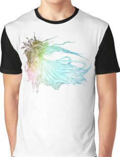 °FINAL FANTASY° Final Fantasy XV Rainbow Logo Graphic T-Shirt
