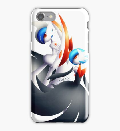 [V.2] MGallade & MGardevoir Shiny  iPhone Case/Skin