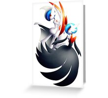 [V.2] MGallade & MGardevoir Shiny  Greeting Card