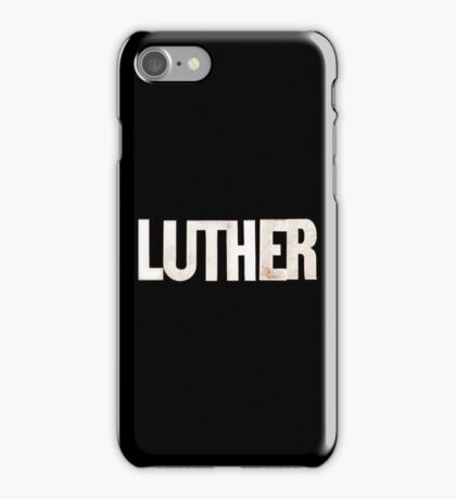 Luther iPhone Case/Skin