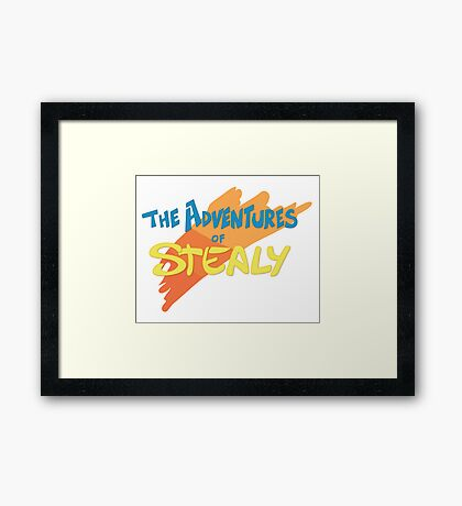 Stealy Framed Print