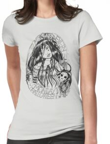 Monster Monday Womens Fitted T-Shirt