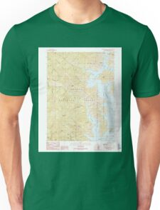 USGS TOPO Map California CA Bohemotash Mountain 299971 1990 24000 geo Unisex T-Shirt