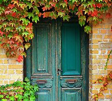 Green Door by Hans Kawitzki