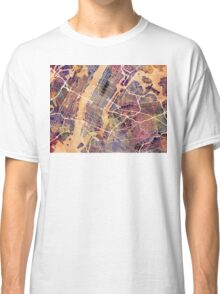 New York City Street Map Classic T-Shirt