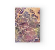 New York City Street Map Hardcover Journal