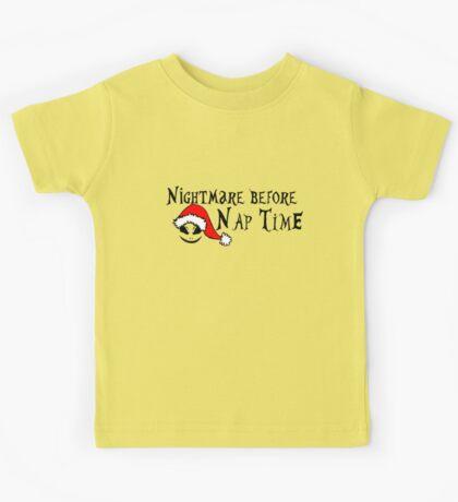 Nightmare before nap time Kids Tee