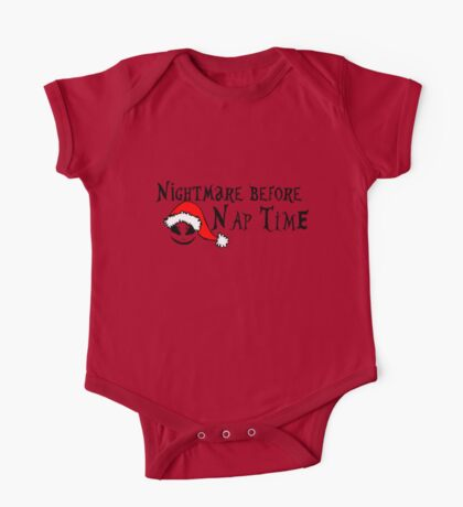 Nightmare before nap time One Piece - Short Sleeve