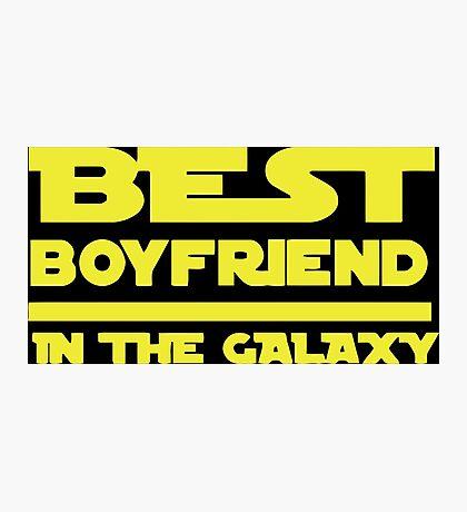 Best Boyfriend in the Galaxy Photographic Print