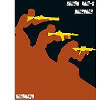 Neotokyo minimalist poster Photographic Print