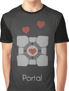 Portal minimalist poster Graphic T-Shirt