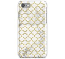 Moroccan marble iPhone Case/Skin