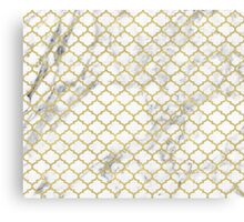 Moroccan marble Canvas Print