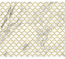 Moroccan marble Photographic Print