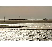 L'Ile aux Oiseaux III - Bay of Arcachon, France.  Photographic Print