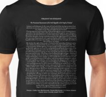 1916 Proclamation of the Irish Republic 3 Unisex T-Shirt