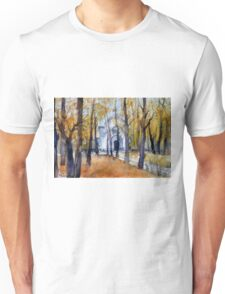 Autumn in Moscow, Russia Unisex T-Shirt