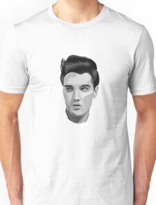 Elvis B&W Colour Block Unisex T-Shirt