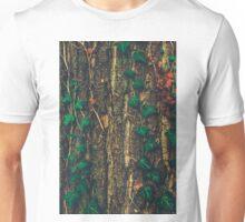 Ivy Climbing Tree Bark Unisex T-Shirt