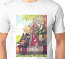 Naruto and Jiraya Unisex T-Shirt