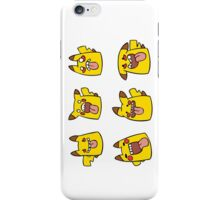 Derpachu collection! iPhone Case/Skin