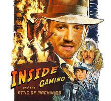 INSIDE GAMING - Indiana Jones (1984) by SebFalcone