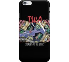 Teenage Mutant Ninja Turtles - T.W.A - Straight Out Tha Sewer iPhone Case/Skin