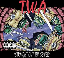 Teenage Mutant Ninja Turtles - T.W.A - Straight Out Tha Sewer by hermitcrab