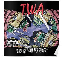 Teenage Mutant Ninja Turtles - T.W.A - Straight Out Tha Sewer Poster