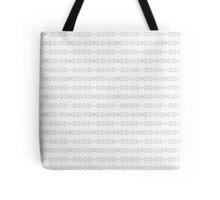 Simple boho pattern. Tribal seamless background. Geometric Wallpaper.  Tote Bag