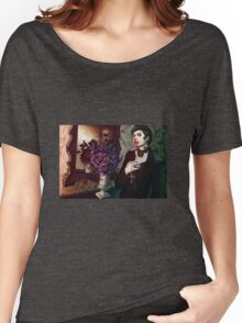 Death Gothic Art Women's Relaxed Fit T-Shirt