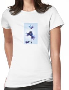 Translucent morning Womens Fitted T-Shirt