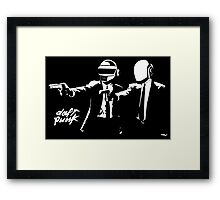Daft Punk Pulp Fiction Framed Print