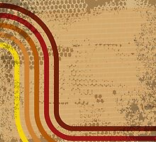 Abstract grungy background by BlueLela